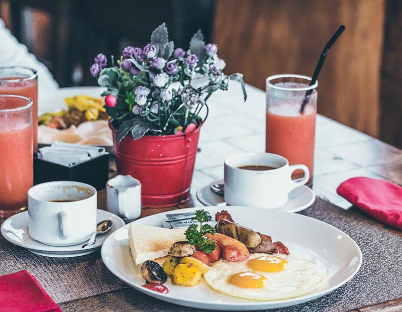 morritt hotel breakfast menu
