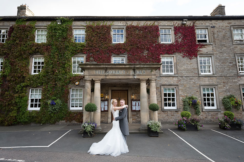 morritt hotel weddings wedding packages