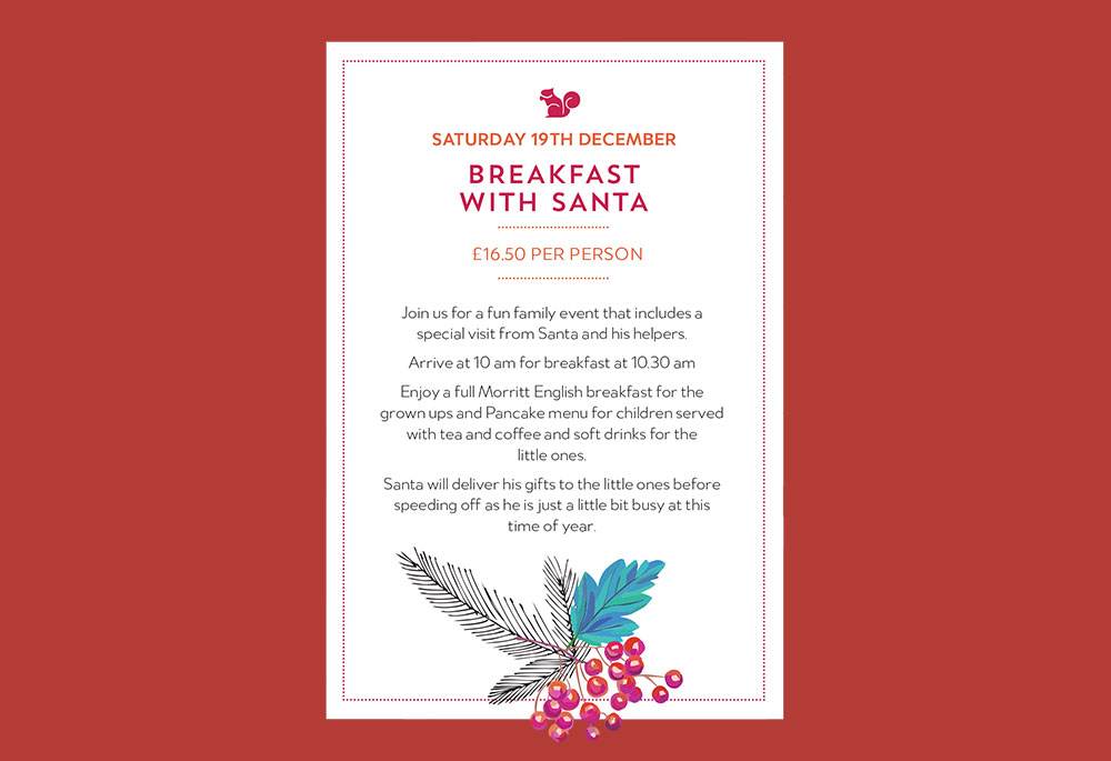 morritt christmas events breakfast