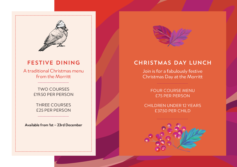 morritt christmas events supper